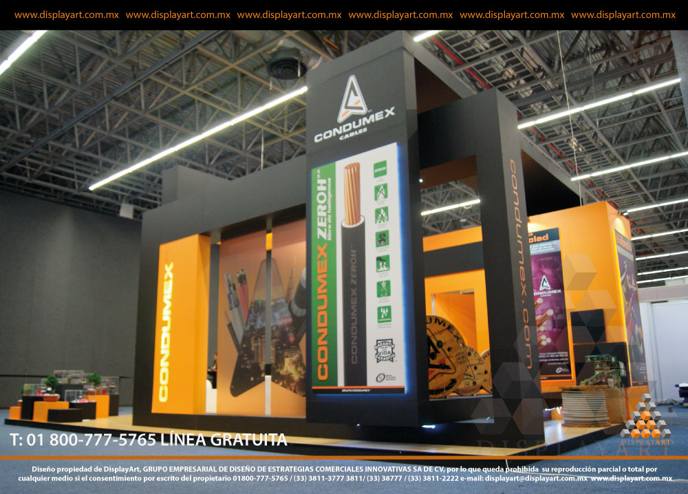 stands y displays guadalajara